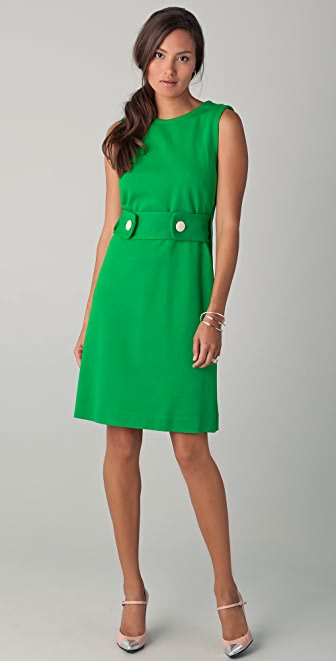 Milly Kristen Trapeze Back Dress