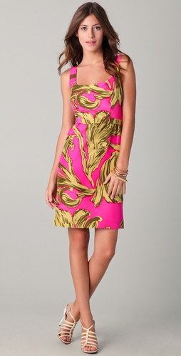 Milly Jillian Print Tank Dress