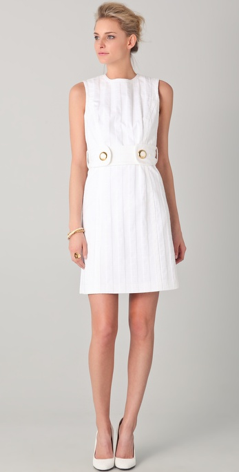 Milly Aris Belted Shift Dress