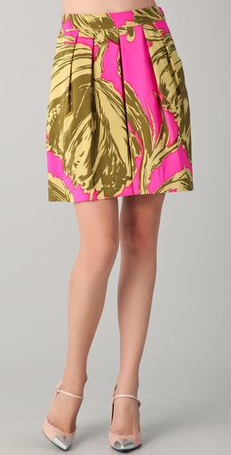Milly Rebecca Full Skirt
