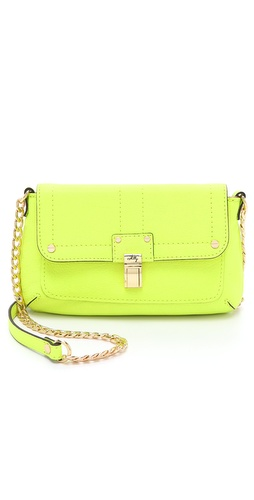 Milly Kelsey Leather Mini Bag