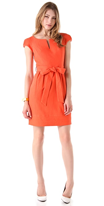 Milly Haley Trapunto Dress