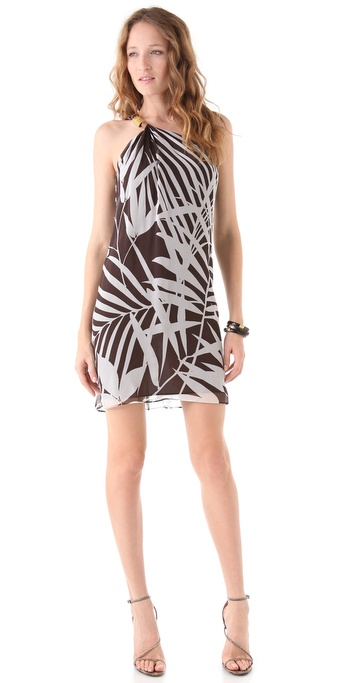 Milly Adriana One Shoulder Dress