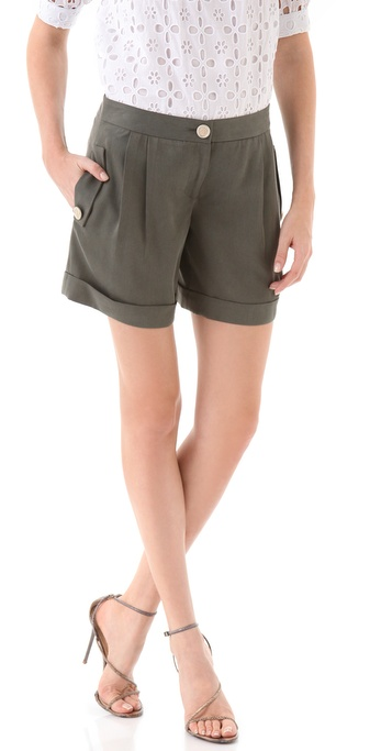 Milly Sofie Cuffed Walking Shorts