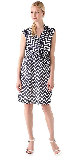 Milly Caroline Cap Sleeve Dress
