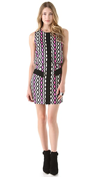 Milly Aileen Combo Dress