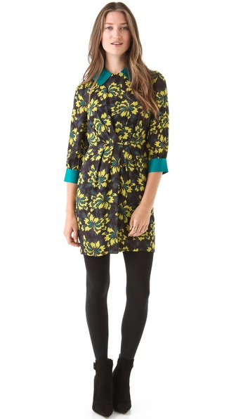 Milly Esther Combo Dress