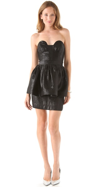 Milly Bree Peplum Dress