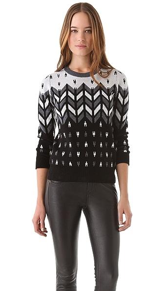 Milly Montana Intarsia Sweater