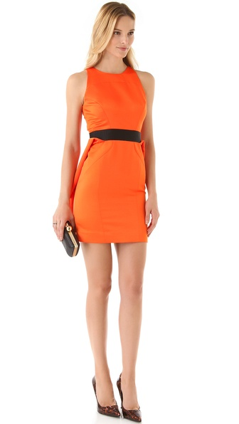 Milly Sleeveless Peplum Dress