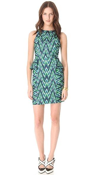Milly Thea Peplum Dress