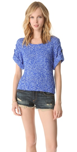 Milly Hali Cropped Sweater