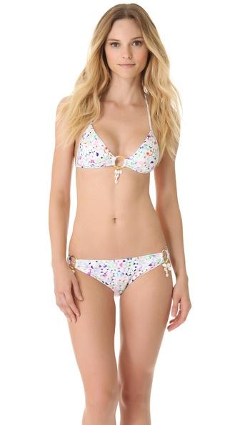 Milly Antibes Bikini Top