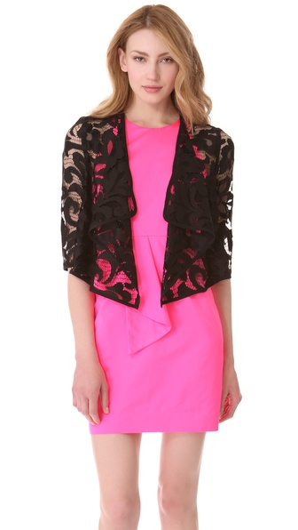 Milly Drape Jacket