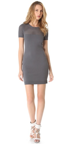 Milly Yulia Net Knit Dress