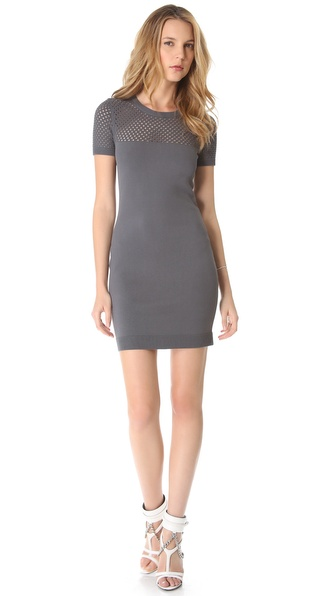 Milly Yulia Net Knit Dress