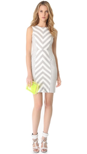 Striped Dress :  shopbop milly chevron style
