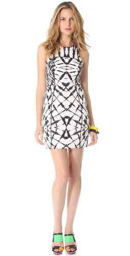 Milly Mallane Racer Back Dress