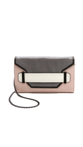 Milly Kelly Colorblock Clutch