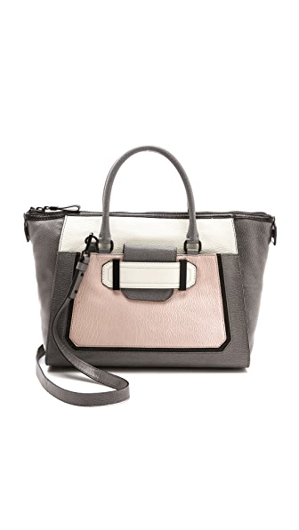 Milly Kelly Colorblock Satchel