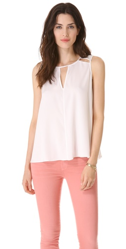 Milly Stella Cutout Top