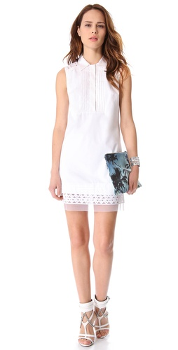 Milly Callie Collared Shirtdress