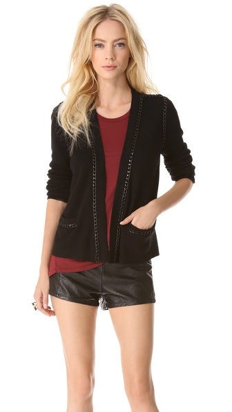 Milly Kylie Open Chain Cardigan