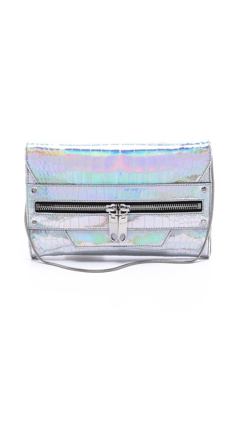 Milly Tatum Metallic Clutch