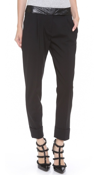 Milly Slouch Cuffed Trousers