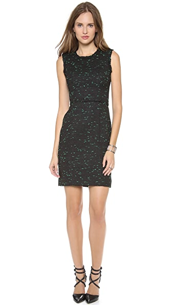 Milly Raw Edge Sheath Dress