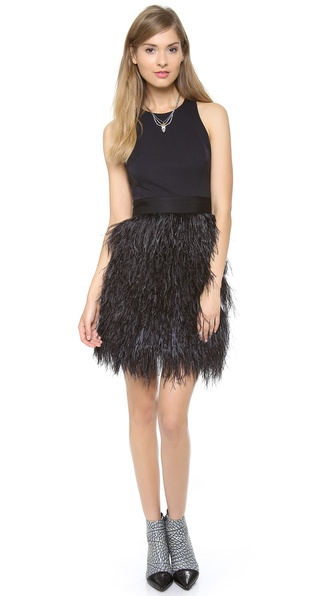 Milly Feather Dress