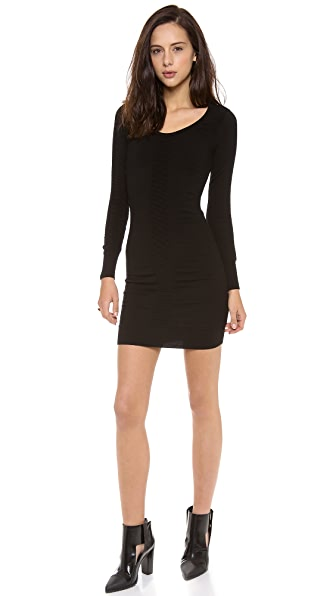 Milly Shirred Knit Dress