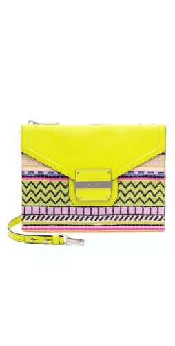 Milly Rich Jacquard Shoulder Bag at Shopbop / East Dane