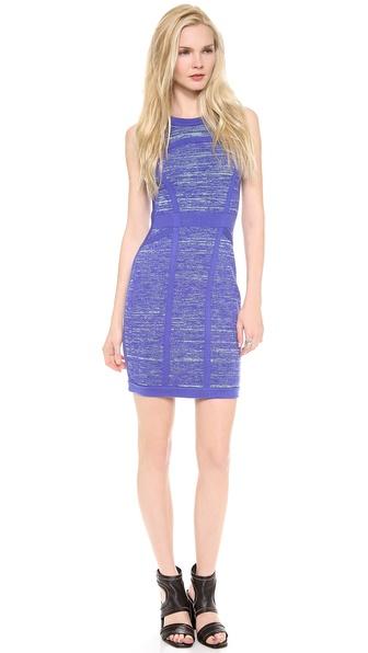 Milly Space Dye Sweater Dress