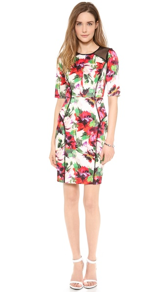 Milly Paneled Dress