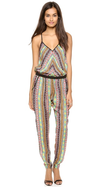 Milly Racer Back Jumpsuit