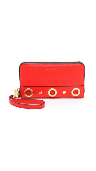 Milly Kent Smartphone Wristlet - Vermillion at Shopbop / East Dane