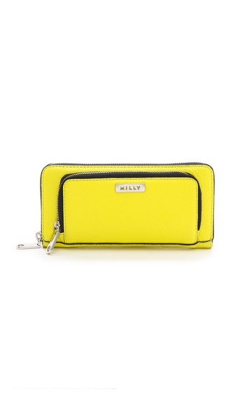Milly Astor Smartphone Zip Wallet - Limeade at Shopbop / East Dane