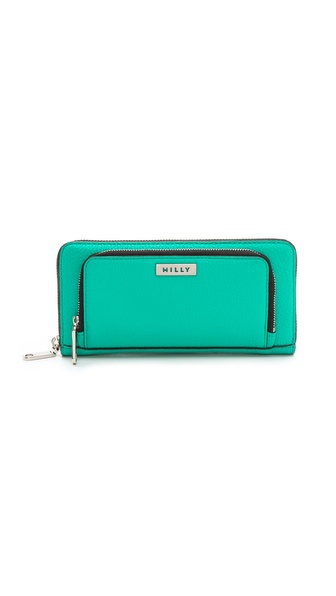Milly Astor Smartphone Zip Wallet - Turquoise at Shopbop / East Dane