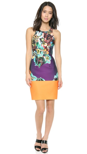 Milly Sea Blossom Sheath Dress