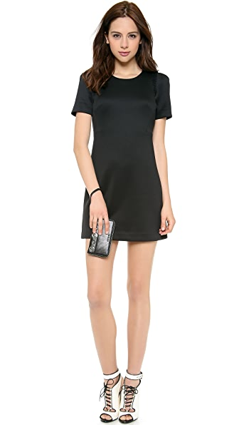 Milly Short Sleeve Shift Dress