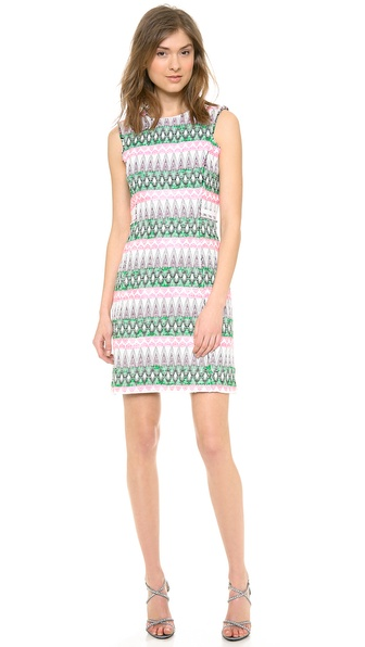Milly Raw Edge Shift Dress