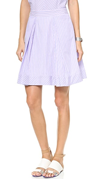 Milly Katie Stripe Skirt