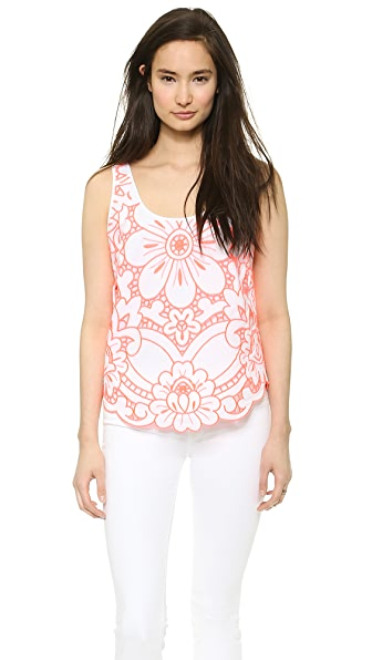 Milly Embroidered Tank
