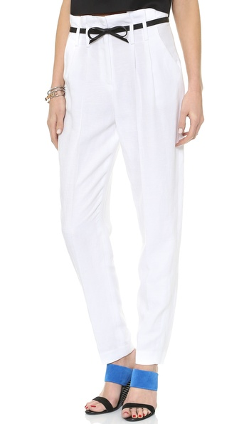 Milly Paper Bag Trousers