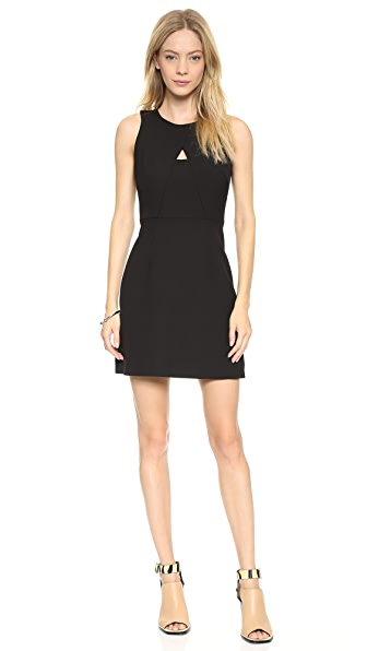 Milly A Line Peek-A-Boo Sheath Dress