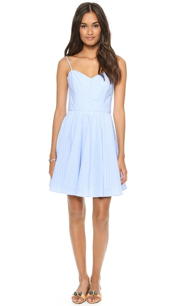 Milly Strappy Stripe Dress
