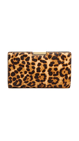 Milly Logan Haircalf Small Frame Clutch