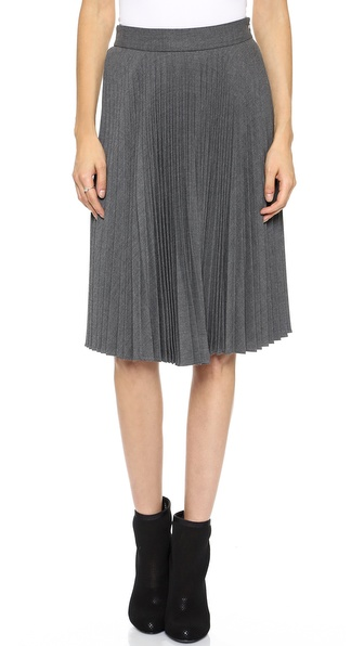 Milly Alex Pleated Skirt