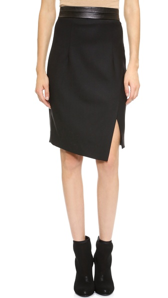 Milly Slit Pencil Skirt